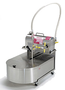 R.F. Hunter Fryer Filtrator - 80 Lbs. Capacity