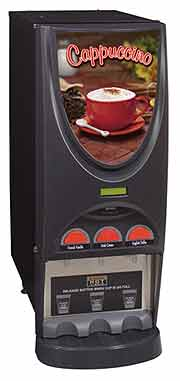 Bunn iMix 3 Hopper Cappuccino Dispenser