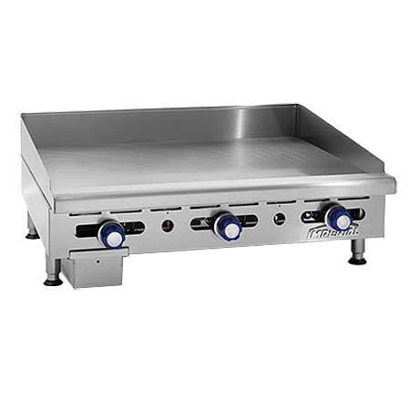 Imperial IMGA Model Countertop Griddles - Natural Gas or Propane