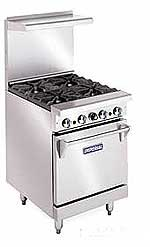 "Elite Imperial 24"" Commercial Oven Range IR-4"