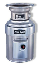 InSinkErator 1 HP Commercial Disposal - SS-100