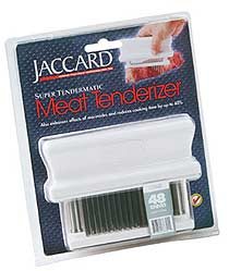 Meat Tenderizing Machine by Jaccard