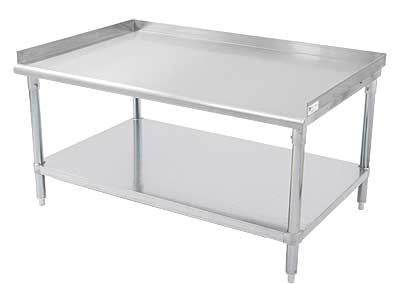 John Boos EES8 Economy Stainless Steel Equipment Stands