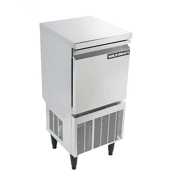 Kold-Draft Cocktail Series Ice Maker with Bin Cube-style Air-cooled Self-contained Condenser - KD-50