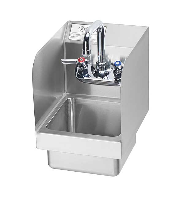 Krowne Super Space Saver Hand Sink Wall Mount - HS-19