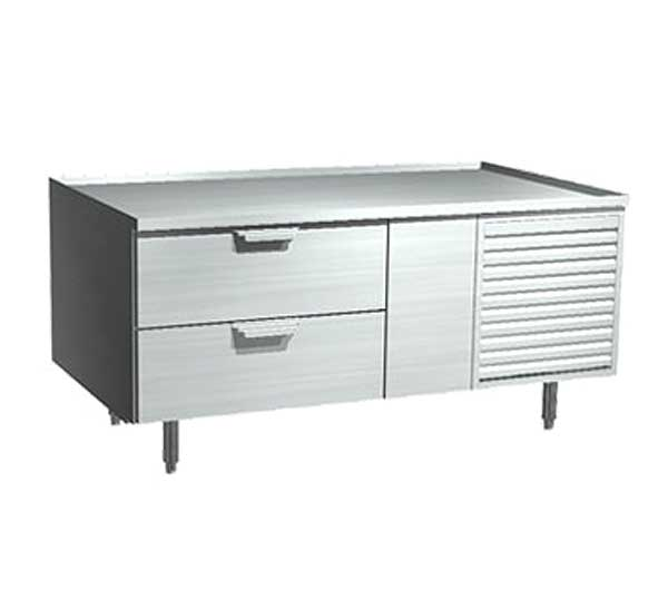 LaRosa Refrigerated Equipment Stand One-section With Drawers Self-contained - 3054-SR