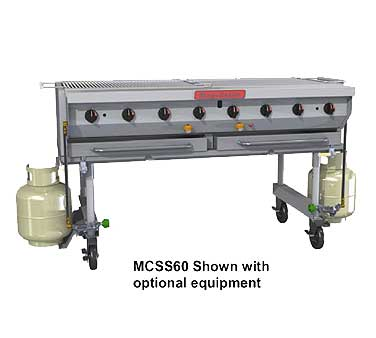 """Magikitch'n Magicater trans. Gas Grill 60"""" - MCSS-60"""