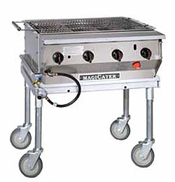 """MagiKitchn Transportable 30"""" Gas Grill"""