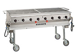 "MagiKitchn Transportable 60"" Gas Grill"