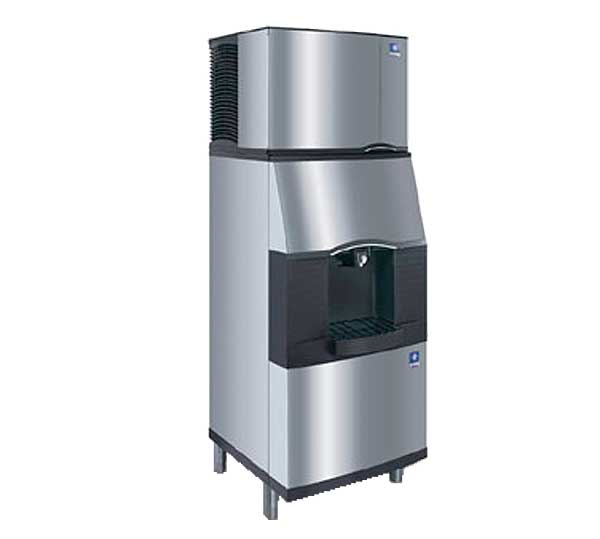 Manitowoc Ice Vending Ice Dispenser with Built-In Water Valve Push Button Floor Model - SFA-291