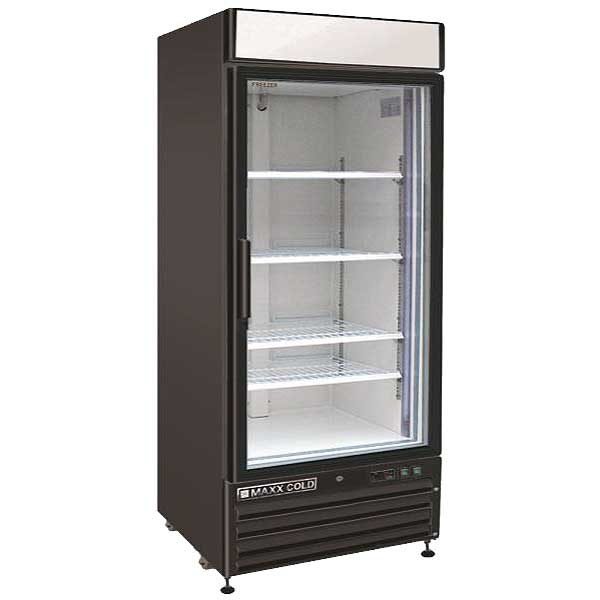 Maxx Cold X-Series Refrigerated Merchandiser Reach-in One-section - MXM1-12RBHC