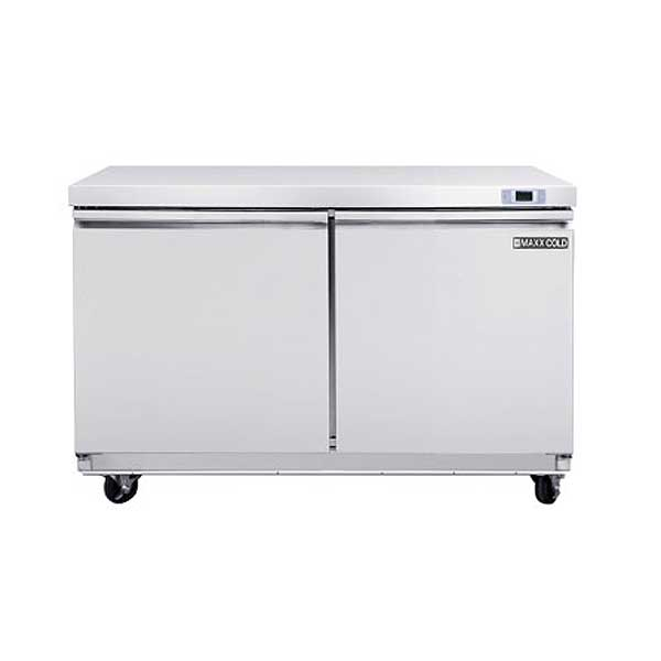 """Maxx Cold Select Series Undercounter Freezer Two-section 48""""W - MXSF48UHC"""