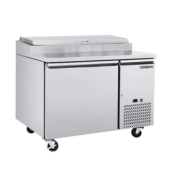 """Maxx Cold Select Series Refrigerated Pizza Prep Table One-section 47""""W - MXSPP50HC"""