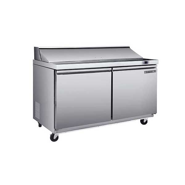 "Maxx Cold Select Series Sandwich & Salad Station Two-section 61-1/4""W - MXSR60S"