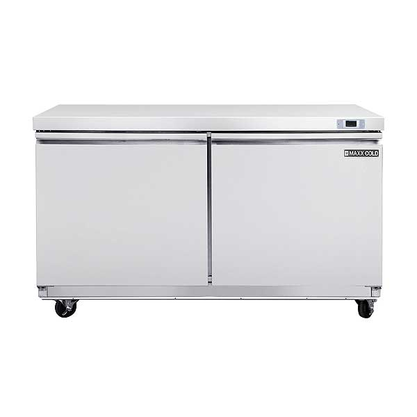 """Maxx Cold Select Series Undercounter Refrigerator Two-section 61""""W - MXSR60U"""