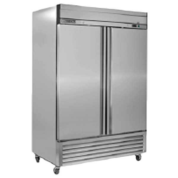 Maxx Cold Select Series Upright Refrigerator Reach-in Two-section - MXSR-49FD
