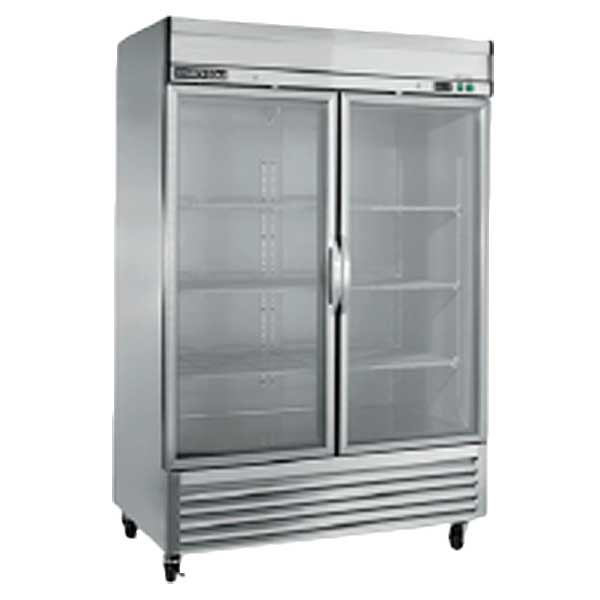 Maxx Cold Select Series Upright Refrigerator Reach-in Two-section - MXSR-49GDHC