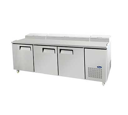 Atosa Refrigerated Reach-In Pizza Prep Table, 93 Inch MPF8203