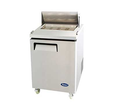Unique Sandwich Salad Refrigerated Prep Table Cu Ft Capacity Product Photo