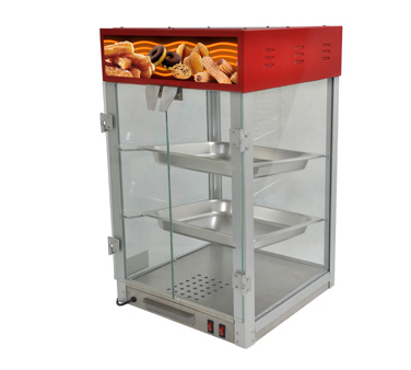 Uniworld Countertop Hot Food Display Case HDC-2