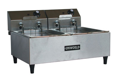 Uniworld Countertop Fryer UF-2B