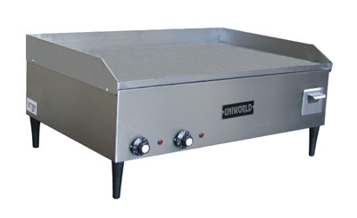 "Uniworld Countertop Electric Griddle UGR-2E, 32"" Wide"