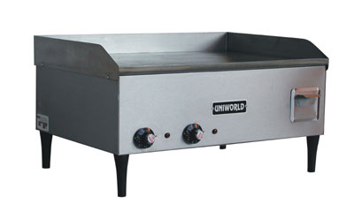 "Uniworld Countertop Electric Griddle UGR-3E, 25"" Wide"