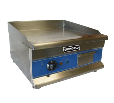 "Uniworld Countertop Electric Griddle UGR-CH20, 20"" Wide"