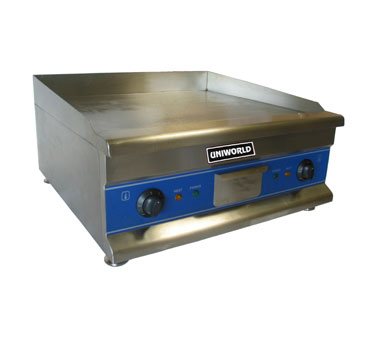 "Uniworld Countertop Electric Griddle UGR-CH24, 24"" Wide"