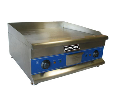 "Uniworld Countertop Griddle UGR-CH30, 30"" Wide"