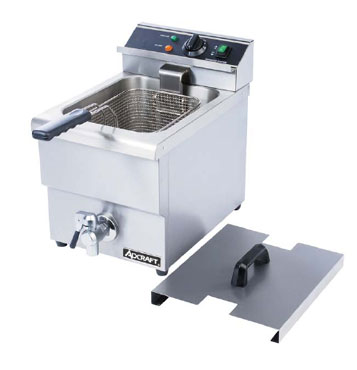 Adcraft Commercial Electric Deep Fryer,15 Lbs. DF-12L