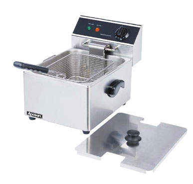 vollrath deep countertop commercial fryer lb