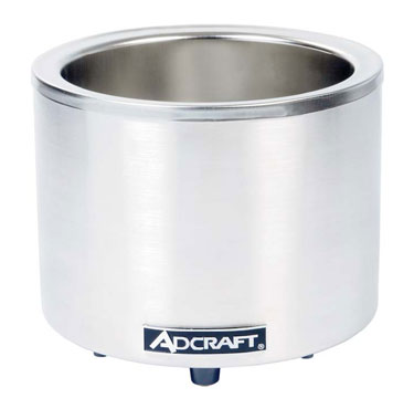 Adcraft Round Countertop Food Cooker/Warmer - FW-1200WR