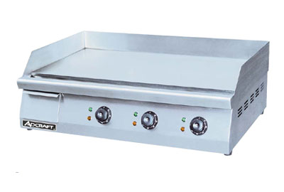 Adcraft Electric-Countertop-Flat-Griddle-Grid Product Image 1300