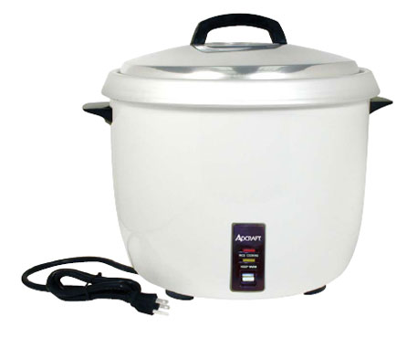 Adcraft 30 Cup Commercial Electric Rice Cooker Model RC0030 - RC-0030