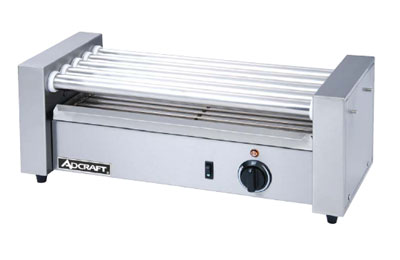 Admiral Craft Hot Dog Grill, Roller-Type - RG-05