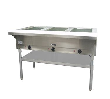 Adcraft Electric Hot Food Serving Table / Steam Table - ST-120/3