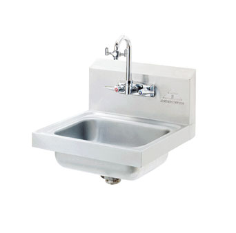 Advance Tabco Eye Wash Hand Sink wall  - 7-PS-55