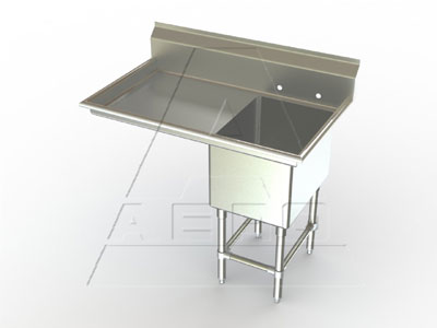 AERO Mfg. Aerospec Sink 1-bowl - 2F1-3020-20L