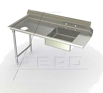 AERO Mfg. Aerospec Dishtable soiled - 2SD-L-96