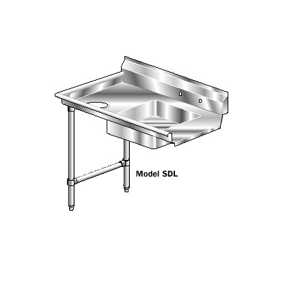 AERO Mfg. Aerospec Dishtable soiled - 2SDI-L-60