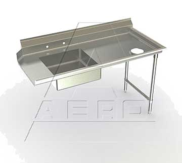 AERO Mfg. Aerospec Dishtable soiled - 2SD-R-60