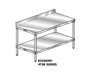 "AERO Mfg. Premium Work Table 24"" - 2TSB-24144"