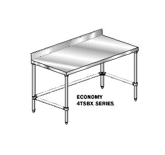 "AERO Mfg. DeluxeWork Table 36"" - 3TSBX-36132"