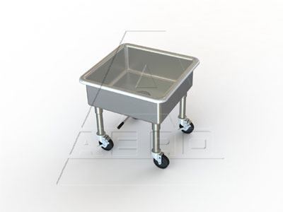 AERO Mfg. Soak Sink portable - 3MS-2424-8