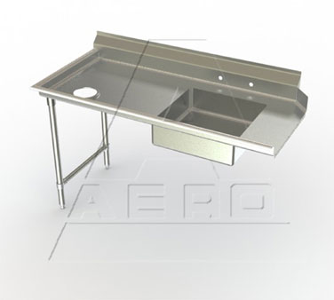 AERO Mfg. DeluxeDishtable soiled - 3SD-L-96