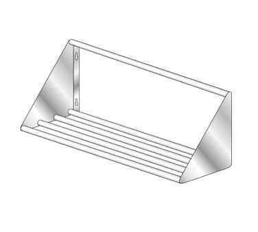 Mfg Slant Wall Shelves Welded Tubular Design picture