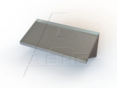 Beautiful Aero Mfg Slant Wall Shelves Traditional Design Product Photo