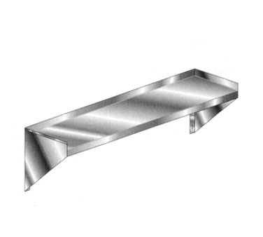 AERO Mfg. Budget Wallshelf wall mounted - 4BW-1260