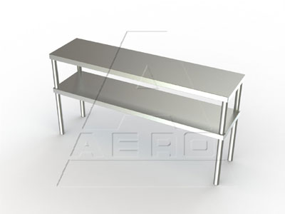 AERO Mfg. DeluxeOvershelf table mounted - 3DO-1836